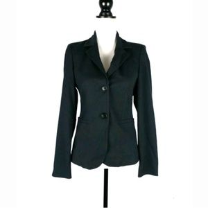 Sisley button front fitted blazer Italy 40 US 4